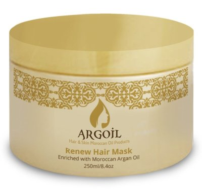 Banish Frizz: ARGOIL Renew Hair Mask