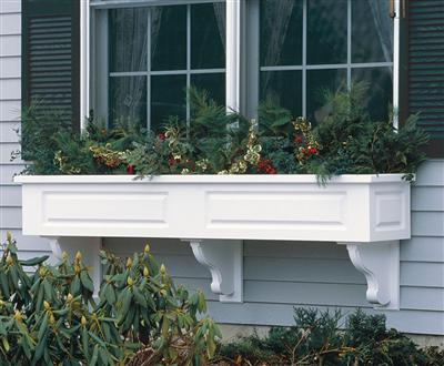 Instant Cottage Garden Style? Add Estate Window Boxes by Walpole Woodworkers
