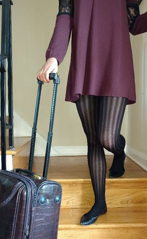 Rock trendy tights from Berkshire Hosiery! Fall Tights Update Last Year's Outfits