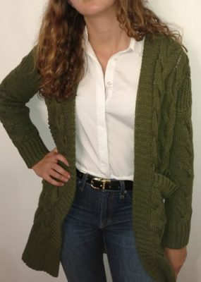Chunky Cardigan: Fall's Best Transition Sweater