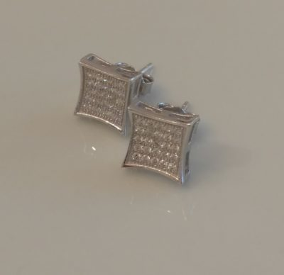 Sterling Pave Studs are a Timeless Classic, Just $11.99