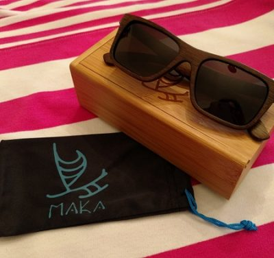 Bamboo sunglasses by Maka Wear are a stylish essential for spring