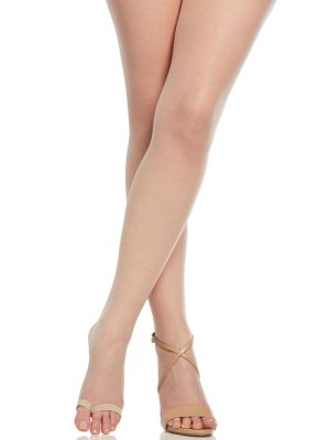 The Easy On! Luxe Ultra Nude Pantyhose with Open Toe from Berkshire Hosiery