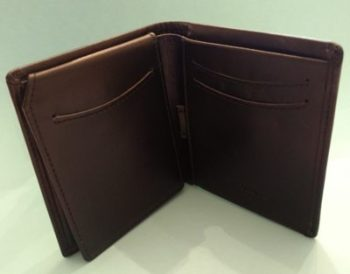 Men's Leather Wallet Giveaway