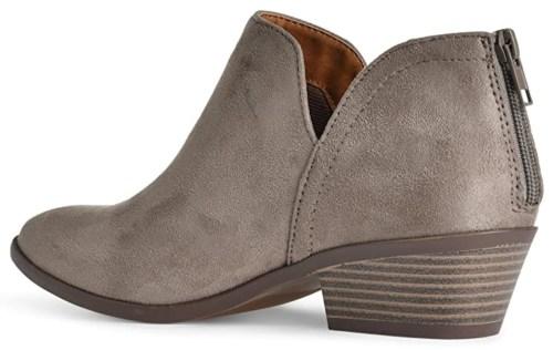 Madeline vegan suede short boots