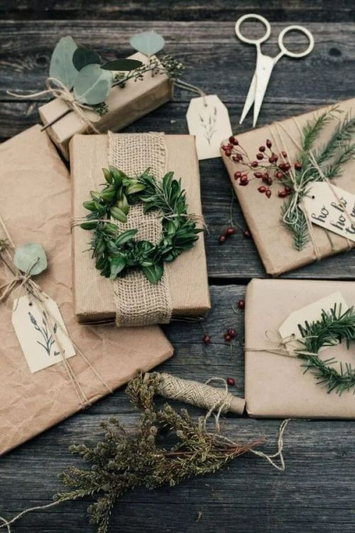 Gift Wrapping Inspiration for Gorgeous Christmas Presents