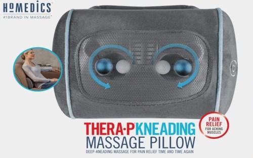#Giveaway! HoMedics Massage Pillow