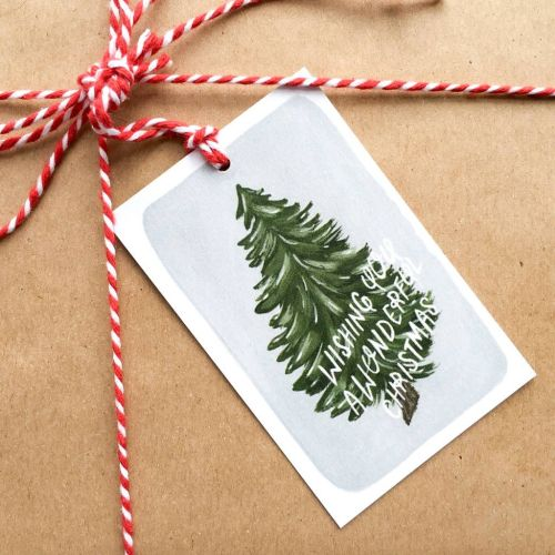 Create gift tags from old Christmas cards
