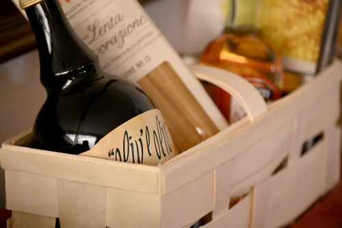 A Christmas gift basket is an eco friendly alternative to traditional gift wrapping,
