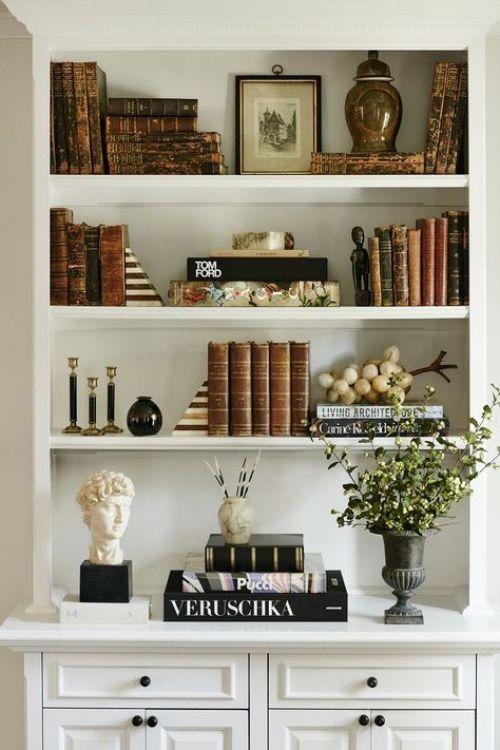 Bookcase Styling Inspiration