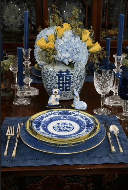 Blue and White China Sets the Perfect Table for Any Season