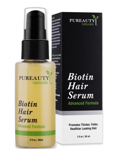 Biotin Hair Growth Serum Helps Reverse Stress-Related Hair Loss