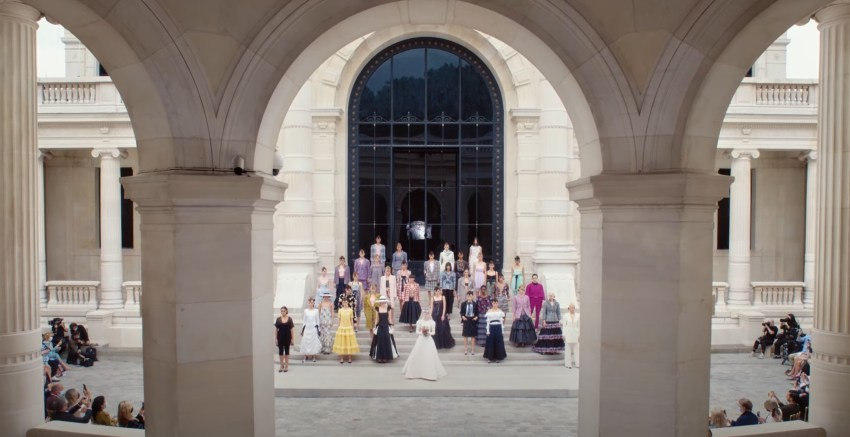 House of Chanel Fall / Winter Haute Couture Show for 2021 / 2022
