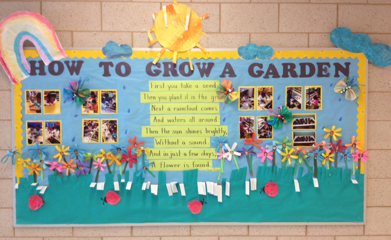 First You Take A Seed From Poem To Lesson To Bulletin