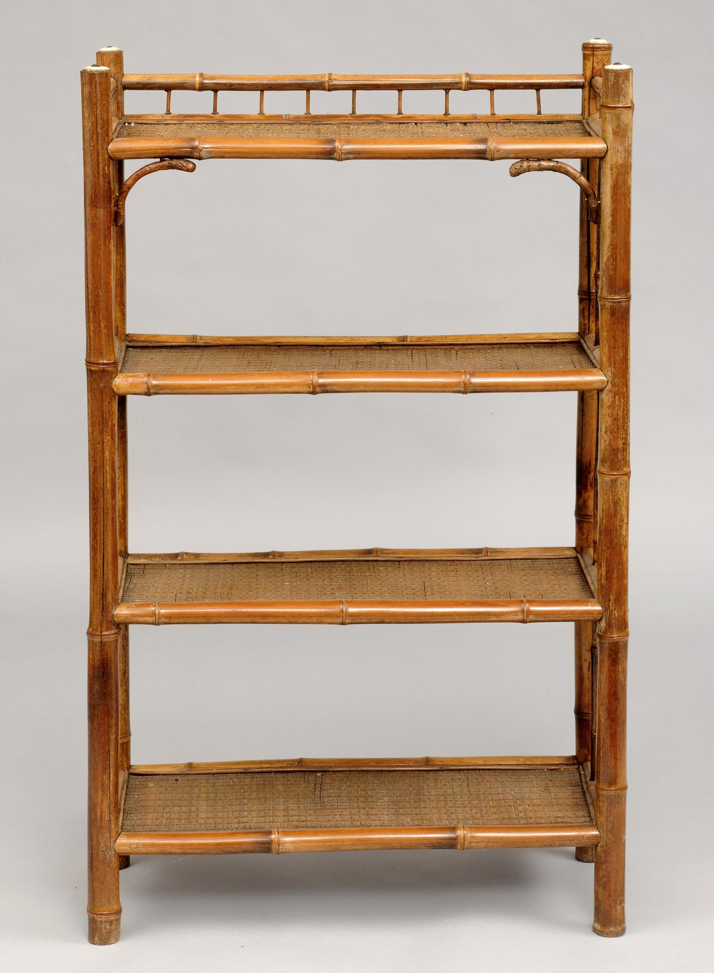 Product Pair Bamboo Open Bookcases