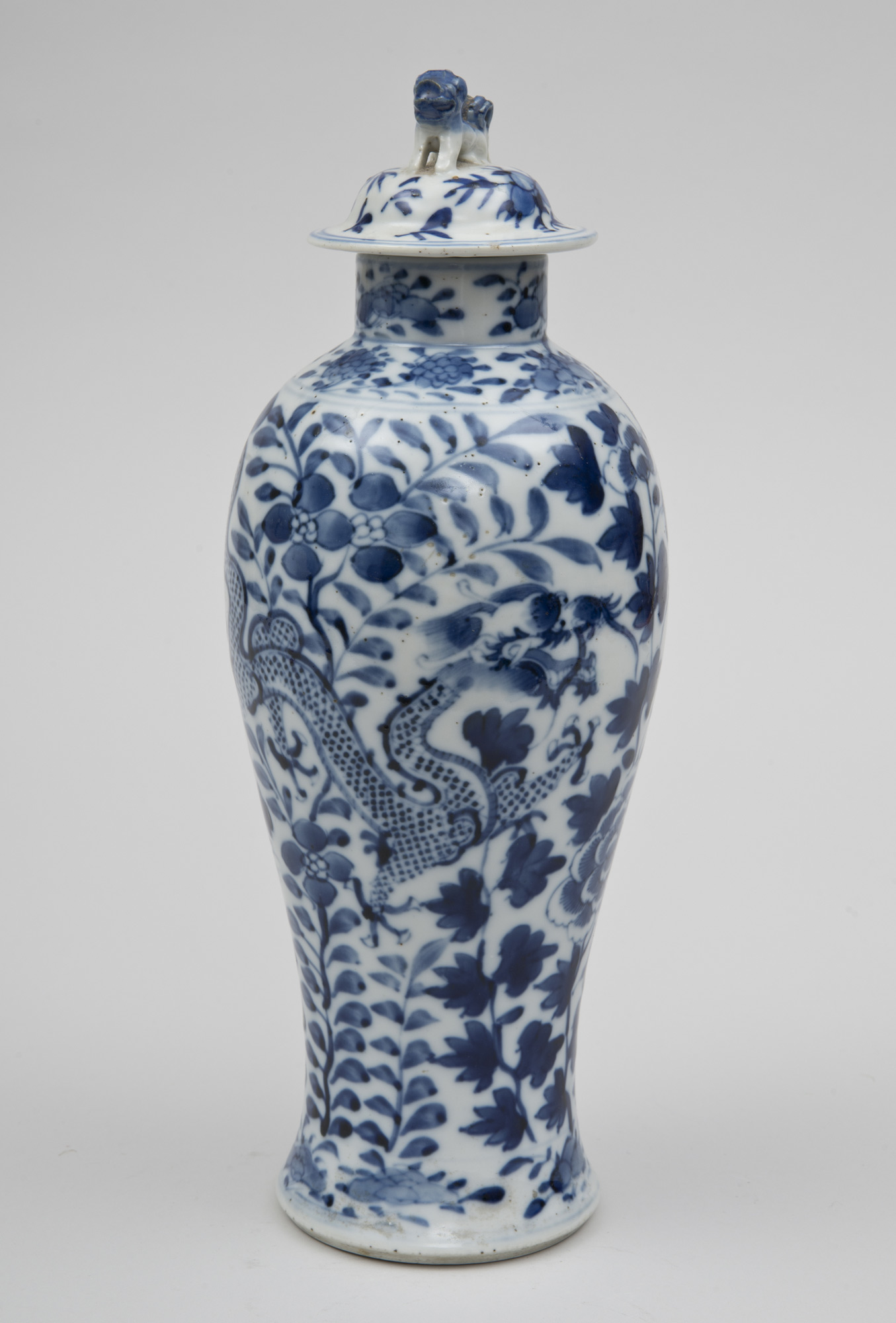 Product Chinese Baluster Vase Lid