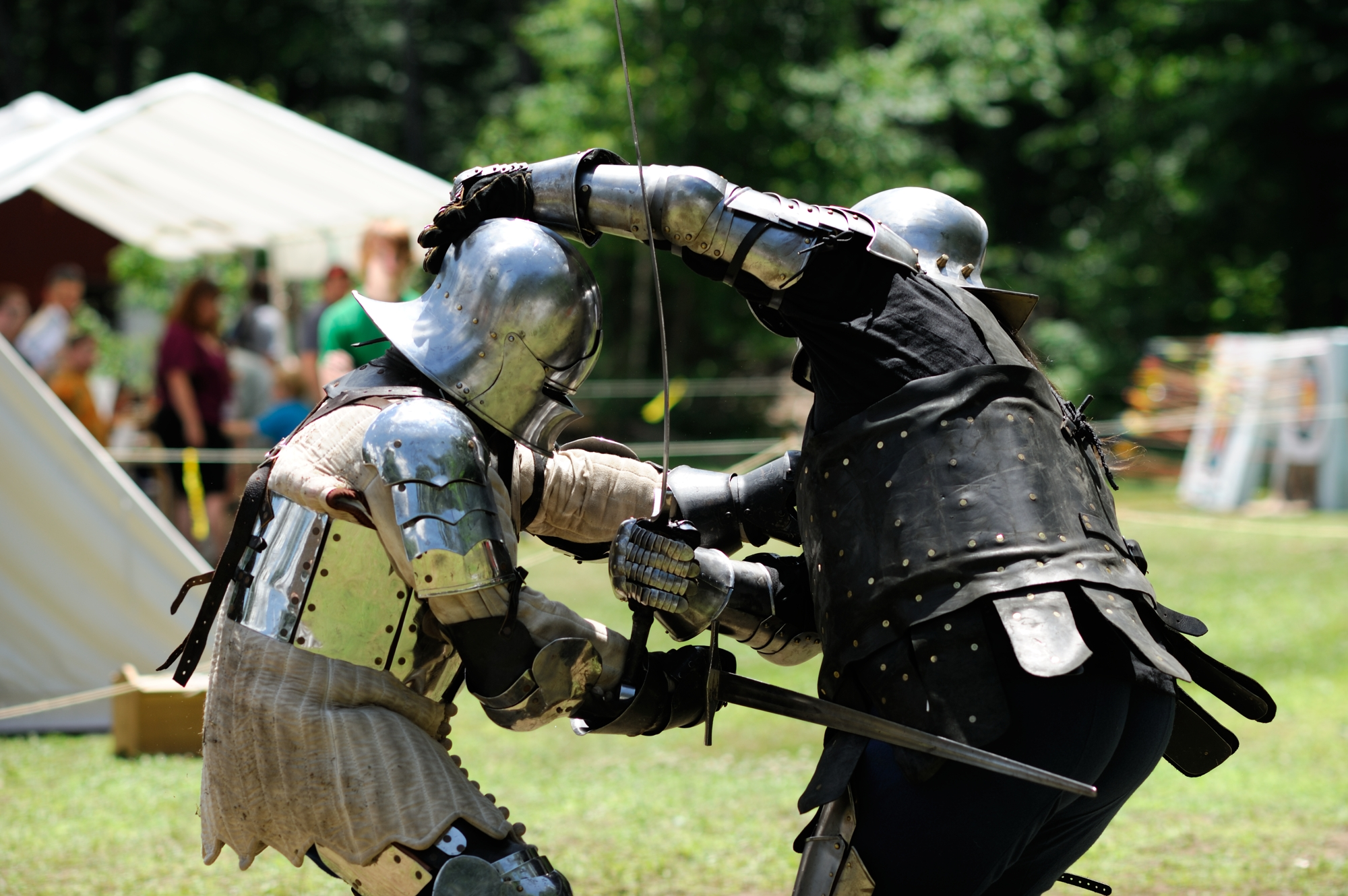Sword Fighting, Renaissance Festival Full Armor