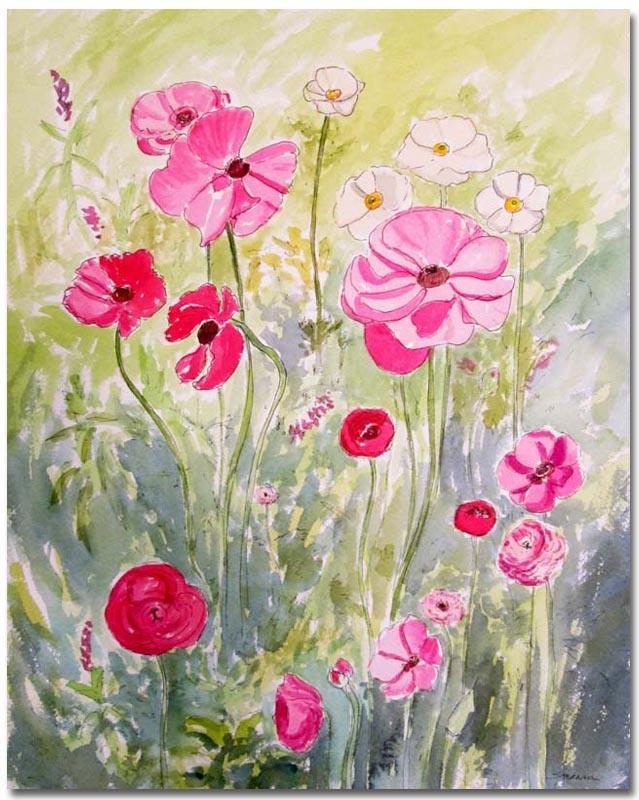 Anemones by Susan Sternau