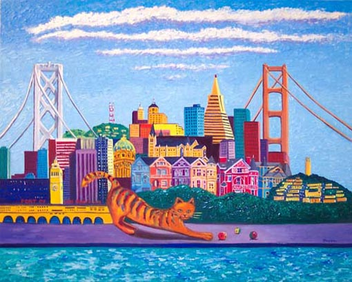 Big Cat San Francisco by Susan Sternau