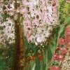 Cherry Blossom Path, detail 2, by Susan Sternau