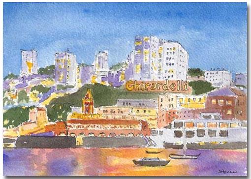 Ghirardelli Twilight by Susan Sternau