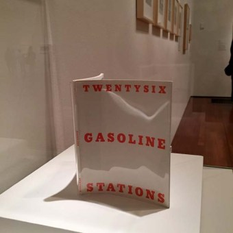 26 Gasoline Stations by Ed Ruscha
