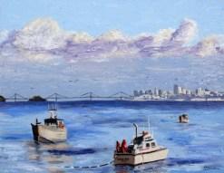 herring-boats-oil-by-susan-sternau