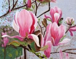 magnolias-print-by-susan-sternau