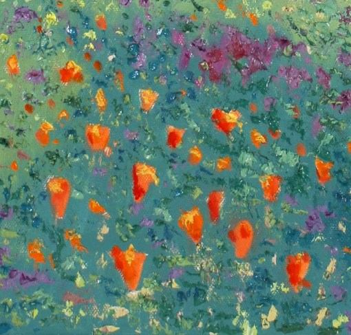 wildflowers-at-china-camp-oil-detail-1-by-susan-sternau