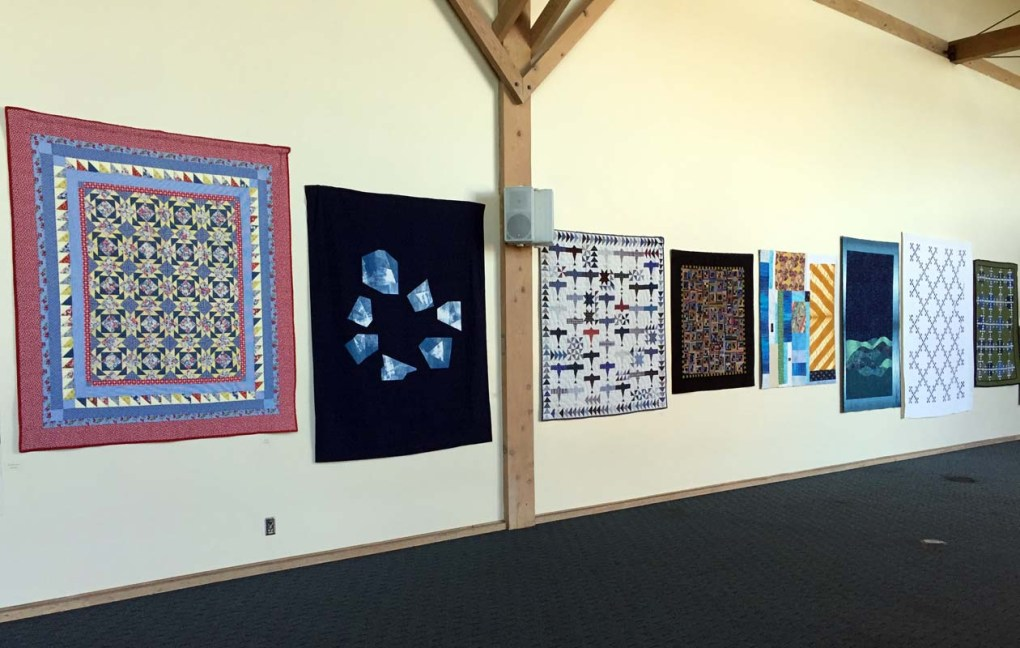 Quilts by Muir Beach Quilters and Friends