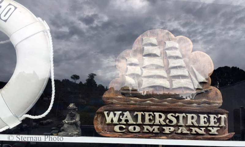 Cool Carvings, Waterstreet Hardware Sign