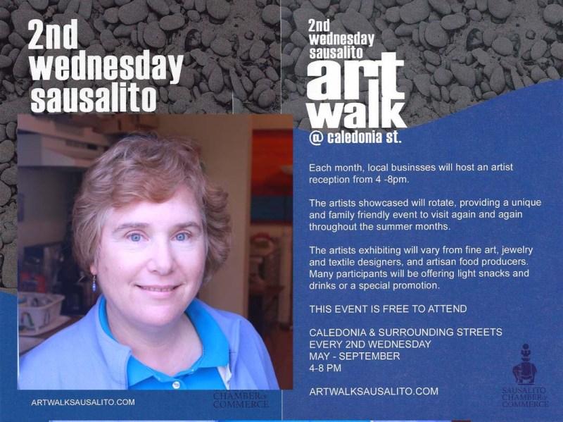 Sausalito Art Walk Invitation