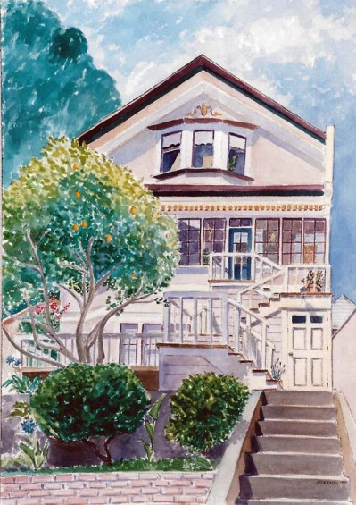 House on Eureka Street Commission by Susan Sternau