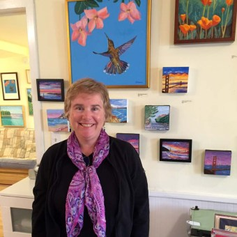 Events, Susan Sternau at Art Walk