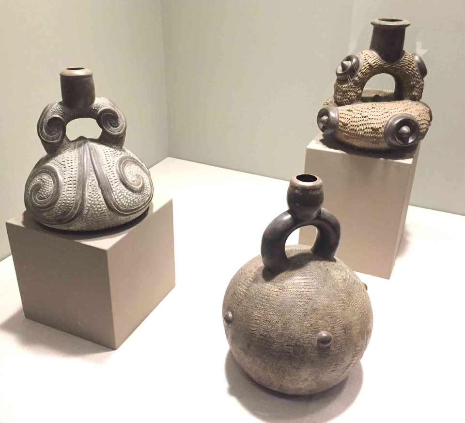 Stirrup vessels - Arts of the Americas exhibit
