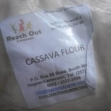 A friend bought me some cassava flour