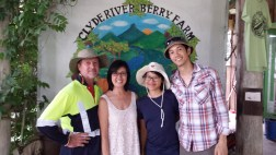 The Clyde River Berry Farm and Nilbarcode Food teams