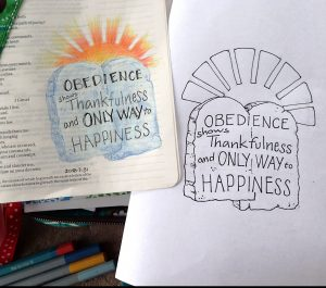 Happiness is in Obeying