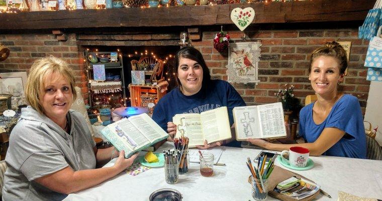 September's Susan Walker Art Bible Art Journaling