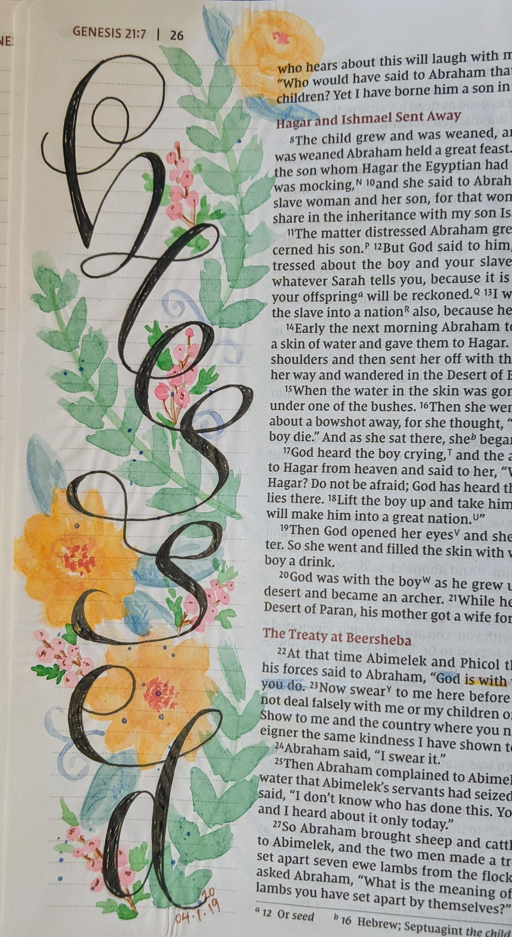 Bible Art Journaling woth Susan Walker Art