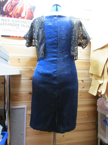 ...it should have been a 'floating bodice' dress!