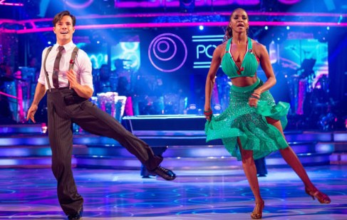 WARNING: Embargoed for publication until 20:17:01 on 05/11/2016 - Programme Name: Strictly Come Dancing 2016 - TX: 05/11/2016 - Episode: n/a (No. n/a) - Picture Shows: ++DRESS REHEARSAL++ *STRICTLY NOT FOR PUBLICATION UNTIL 20:17HRS, SATURDAY 5th NOVEMBER, 2016* Danny Mac, Oti Mabuse - (C) BBC - Photographer: Guy Levy