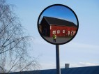 Åka rullskior efter sista aprilregnet