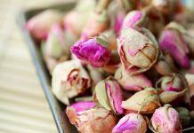 boccioli di rosa