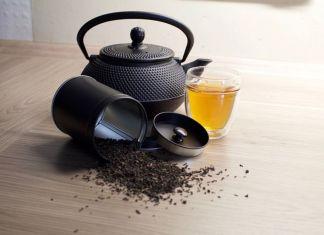 porta tè e teiera