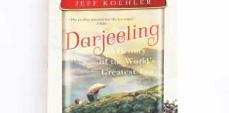 copertina libro: Darjeeling – a history of the world's greatest tea