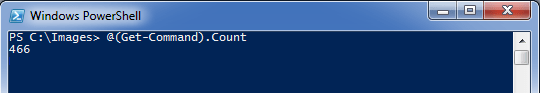 PowerShell Showing Command Count