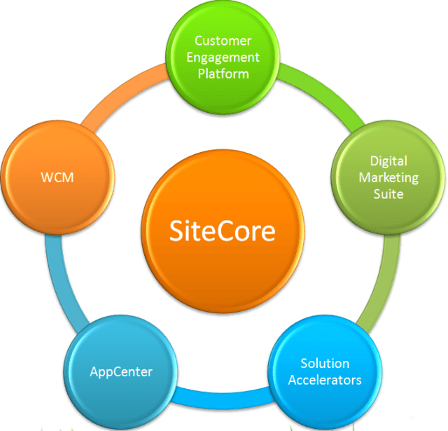 SiteCore Overview – Products offered