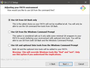 Git Install Step 3