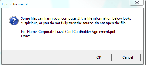 Some Files Can Harm Your Computer